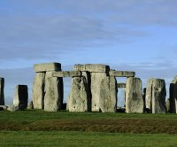 Demonstrators protest tunnel plans near Stonehenge