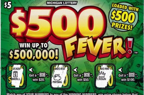 Stop for gas earns Michigan woman a $500,000 lottery jackpot