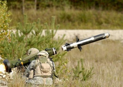 Javelin missile demos vehicle mounted capability