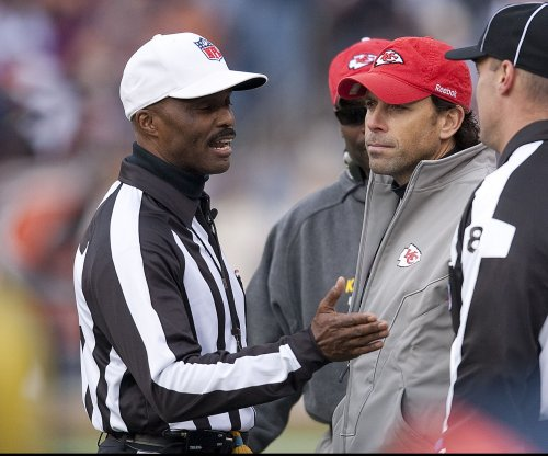 Ex-NFL referee Mike Carey out at CBS