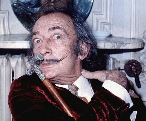 Exhumation shows Salvador Dalí's mustache intact