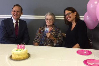Woman given lifetime bus pass as 103rd birthday gift