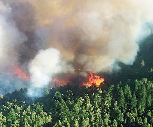 Firefighters, National Guard work to control blazes across Oregon