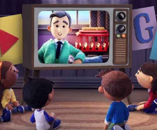 Google Doodle features animated 'Mister Rogers'