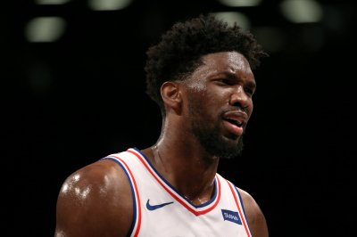 76ers star Joel Embiid to miss Tuesday's game vs. Suns with ankle injury