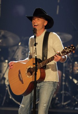 Chesney named entertainer of the year