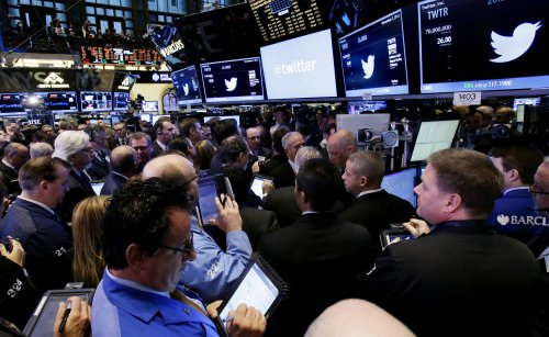 Twitter shares open 73 percent higher than asking price