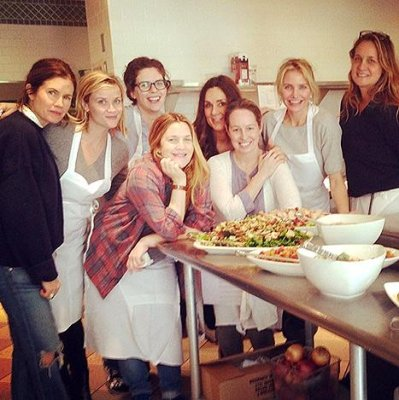 Reese Witherspoon, Cameron Diaz and Drew Barrymore took a girls trip together