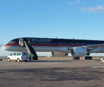 Donald Trump's plane diverted to Nashville due to engine trouble