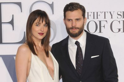 'Fifty Shades' stars 'safe and sound' after Nice massacre