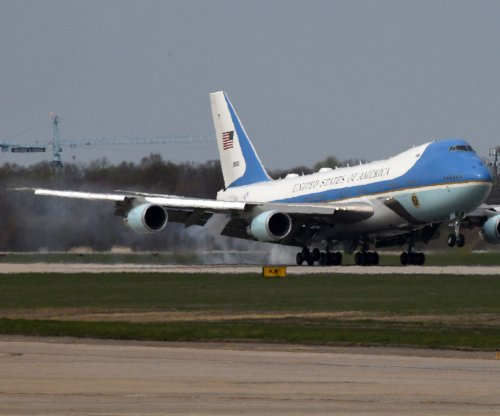 Next Air Force One arriving in '24 -- and it's red, white and blue