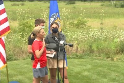 Wisconsin Supreme Court justice sworn in during 100-mile run