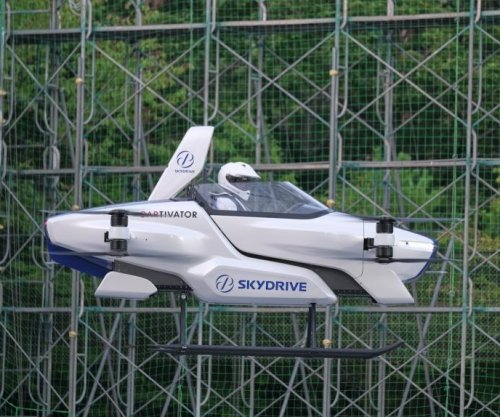 Japanese company's flying car takes successful test flight