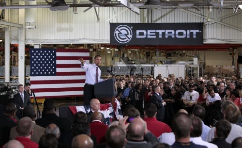 Obama weighs in on right-to-work law