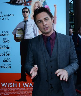 Zach Braff talks 'corporate tweaks' on films at 'Wish I Was Here' premiere