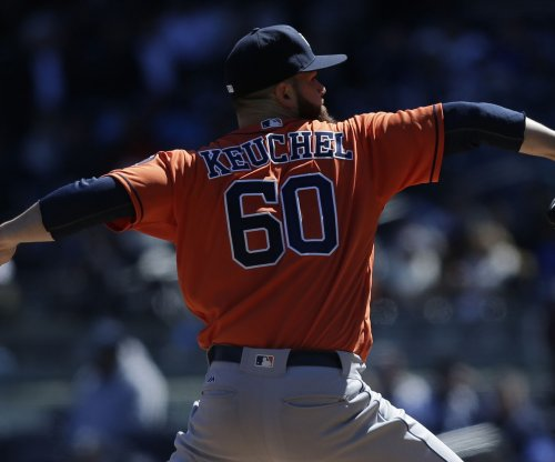 Houston Astros throttle Texas Rangers 5-0 behind Dallas Keuchel's 3-hitter