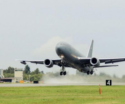 Cargo lock problem keeps Air Force's KC-46 tankers grounded