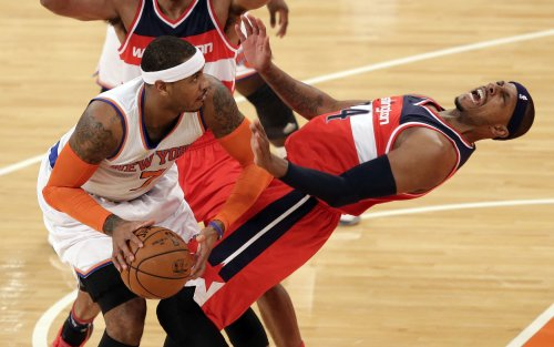 Pierce, Wizards run past Knicks