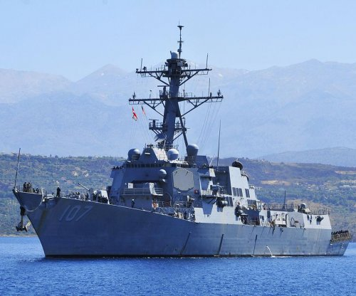 U.S., Russian warships in close call in Mediterranean Sea