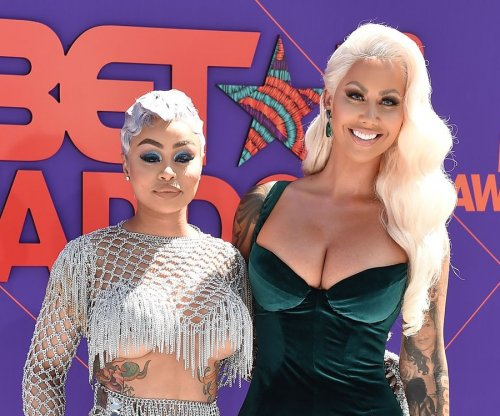 Blac Chyna attends BET Awards with Amber Rose