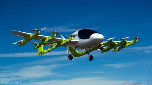 Aero company Kitty Hawk unveils pilot-less air taxi 'Cora'