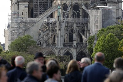 Good Friday, Easter services at Notre Dame Cathedral will go on -- outdoors