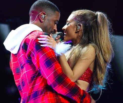 Ariana Grande and Big Sean sing emotional duet at Jingle Ball