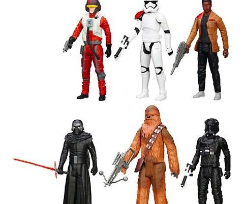 Five times toy sets excluded female characters