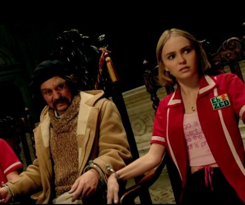 Johnny Depp, daughter Lily-Rose star in 'Yoga Hosers' trailer