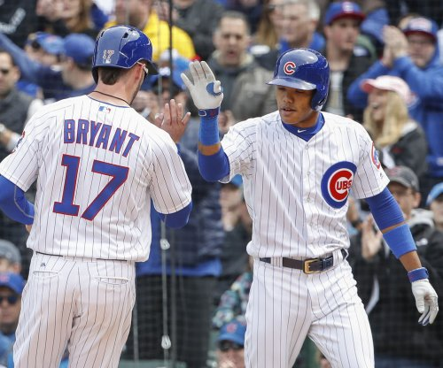 Addison Russell's blast caps rally as Chicago Cubs jolt Milwaukee Brewers