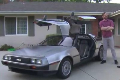 Great Scott! DeLorean driver ticketed for doing 88 mph