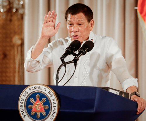 Philippines' Duterte tells soldiers to shoot female rebels' genitals