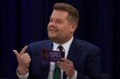 James Corden says he stole a candle from Mariah Carey on 'Spill Your Guts'