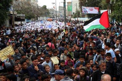 Palestinians angered by U.S. plan to cut U.N. aid by more than half