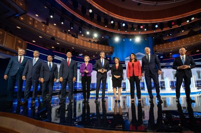 Democratic presidential candidates face off on healthcare, immigration