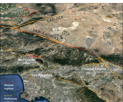 Ridgecrest temblors increase chance of San Andreas earthquake