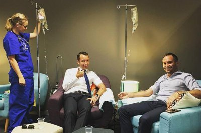 Australia's first Hangover Clinic raises controversy with IV treatments