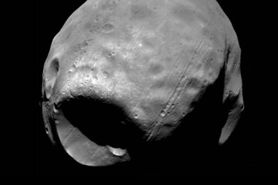 How Mars' moon Phobos came to look like the Death Star