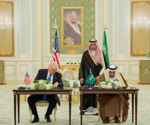Trump signs $110B defense deal, receives warm welcome in Saudi Arabia