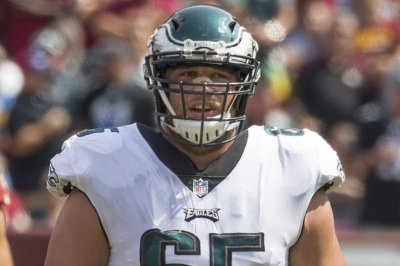Philadelphia Eagles OT Lane Johnson has sprained MCL