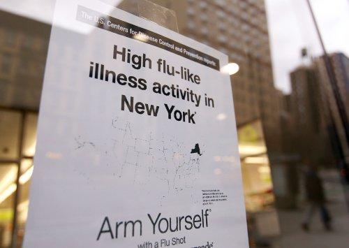 U.S. flu activity down, but influenza B up, 342 deaths in California