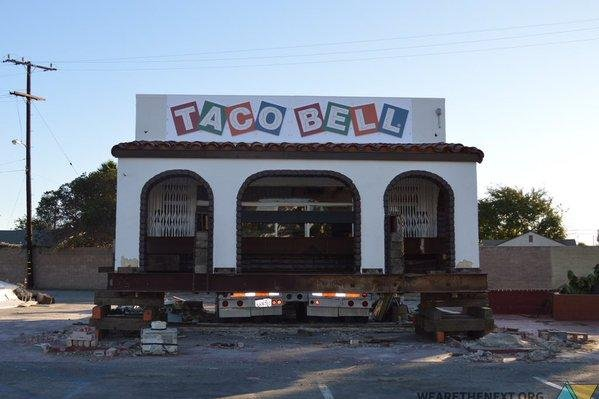 Taco Bell Numero Uno' saved from the wrecking ball - UPI com