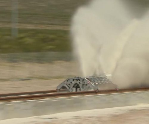 Hyperloop One conducts first test of propulsion mechanism in Nevada desert