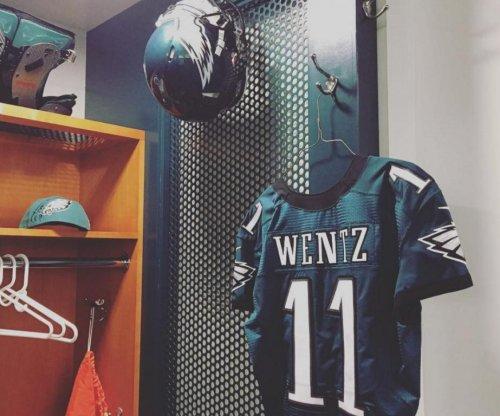 Philadelphia Eagles impressed with Carson Wentz's poise