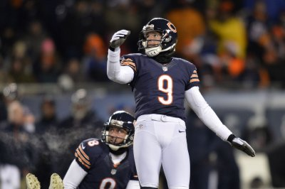 Robbie Gould happy to be kicking for New York Giants