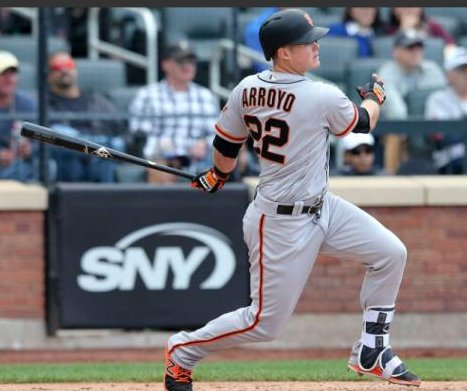 Christian Arroyo's 3-run double in ninth rallies San Francisco Giants past New York Mets