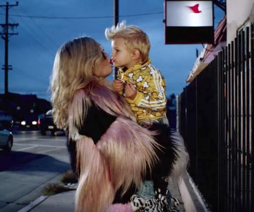 Fergie's son appears in her 'A Little Work' music video