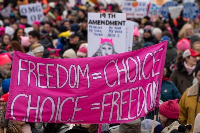 Activists gather for fourth year of worldwide Women's Marches