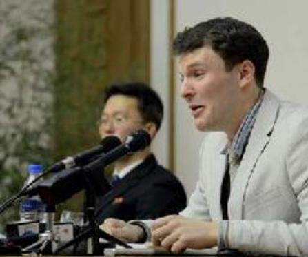 U.S. student in North Korea sentenced to 15 years hard labor