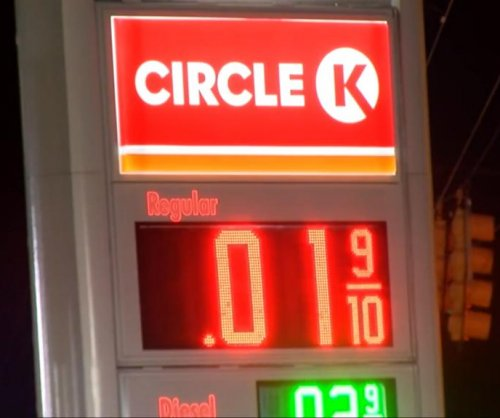 Computer glitch drops gas price to 1 cent